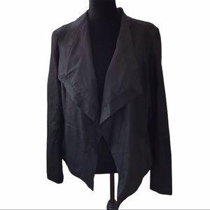 Vince Leather Jacket Sz M